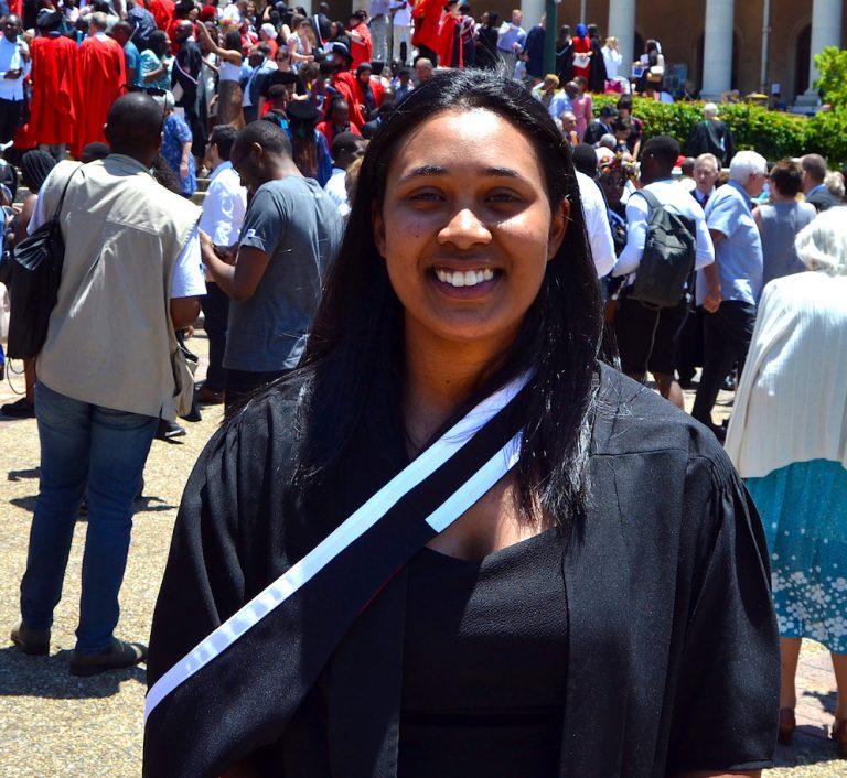 Kathryn van Boom MSc graduation 2019