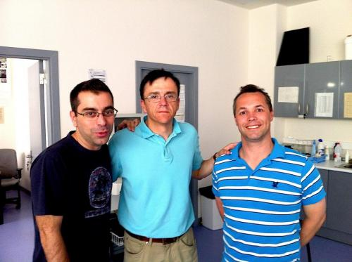 2013 - Alfredo, Alejandro Lucia and Tertius Kohn