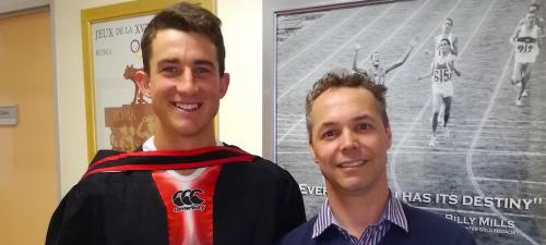 2016 - Matt Lepan (Hons) and Tertius Kohn