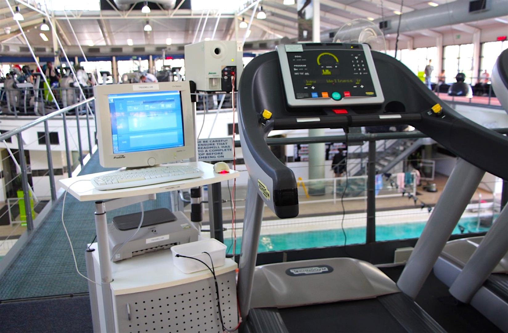 Treadmill study - 2014