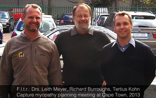 2013 - Capture myopathy meeting in Cape Town