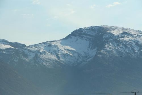On our way to Pearston - snow on the Matroos Mountains, De Doorns