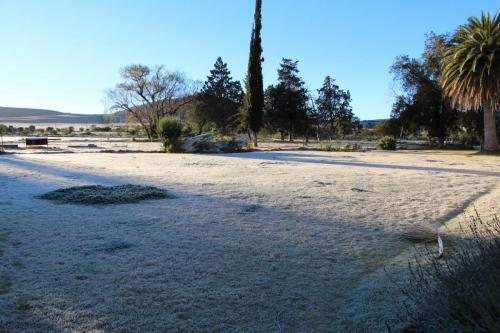 Frosting! Pearston, Eastern Cape