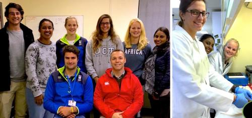 2016 - Honours students and interns